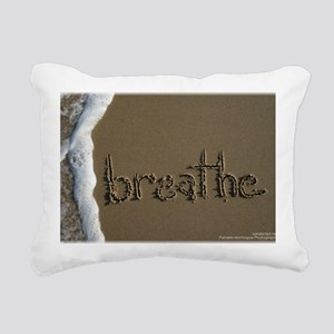 breathe Rectangular Canvas Pillow