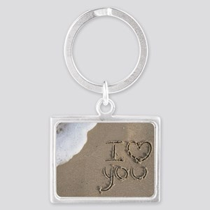 i love you 2011 Landscape Keychain