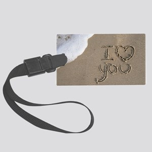 i love you 2011 Large Luggage Tag