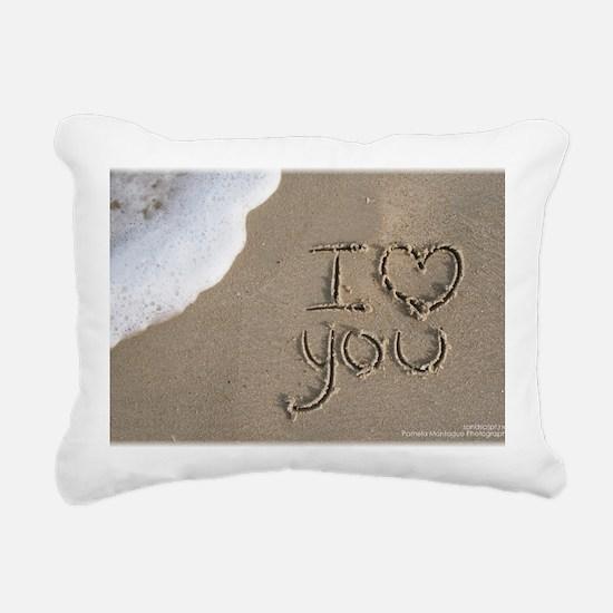 i love you 2011 Rectangular Canvas Pillow