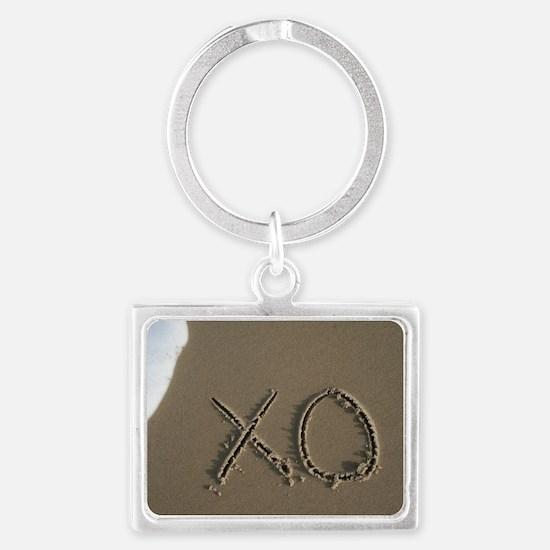 xo Landscape Keychain