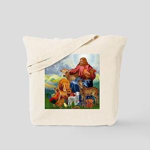 JesusAnimaltee2 Tote Bag