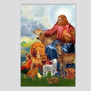 JesusAnimaltee2 Postcards (Package of 8)