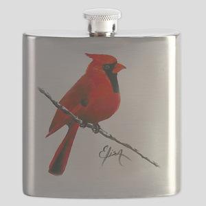 cardinal (2) Flask