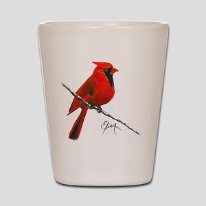 cardinal (2) Shot Glass