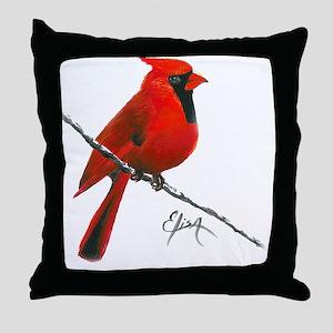 cardinal (2) Throw Pillow