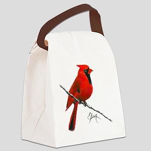 cardinal (2) Canvas Lunch Bag