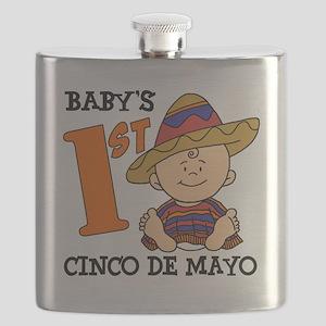 Babys First Cinco De Mayo Flask