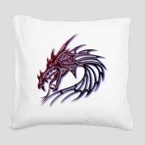 dragonshirt2 Square Canvas Pillow