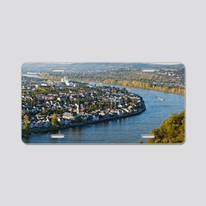 Koblenz Aluminum License Plate