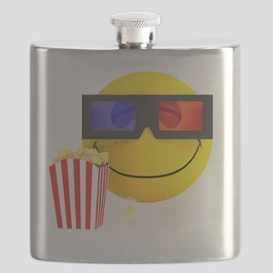 3d-smiley-popcorn Flask