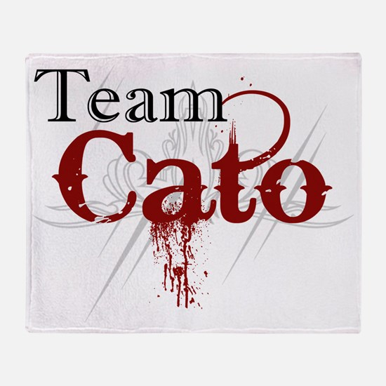 Team Cato Throw Blanket