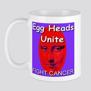 Egg Heads Unite! Fight Cancer Mug