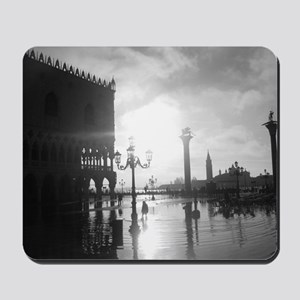 Black and White Mousepad