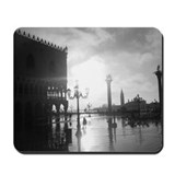 Black and white photography Mouse Pads
