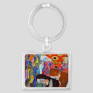 Laptop Klimt Hope II Landscape Keychain