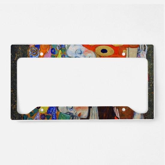 Laptop Klimt Hope II License Plate Holder