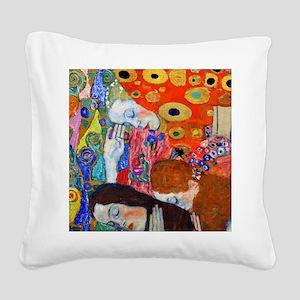FF Klimt Hope II Square Canvas Pillow