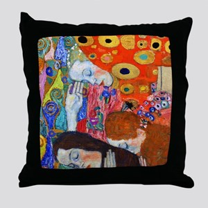 FF Klimt Hope II Throw Pillow