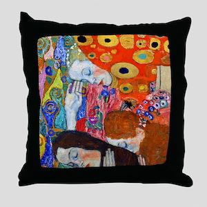 FF Klimt Hope II Throw Pillow