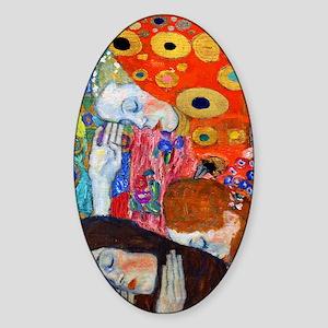 FF Klimt Hope II Sticker (Oval)