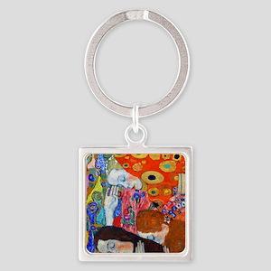FF Klimt Hope II Square Keychain