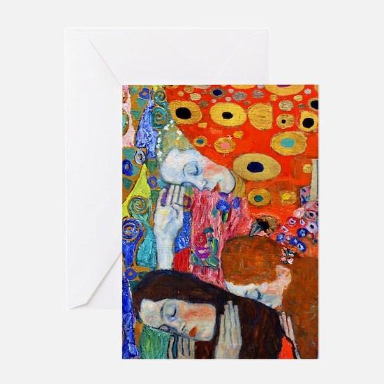 FF Klimt Hope II Greeting Card