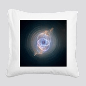 catseyenebula_hubble (2) Square Canvas Pillow