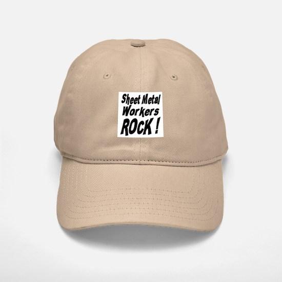 Sheet Metal Rocks ! Baseball Baseball Cap