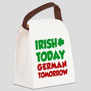 Irish Today German Tomorrow Canvas Lunch Bag