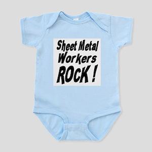 Sheet Metal Rocks ! Infant Bodysuit