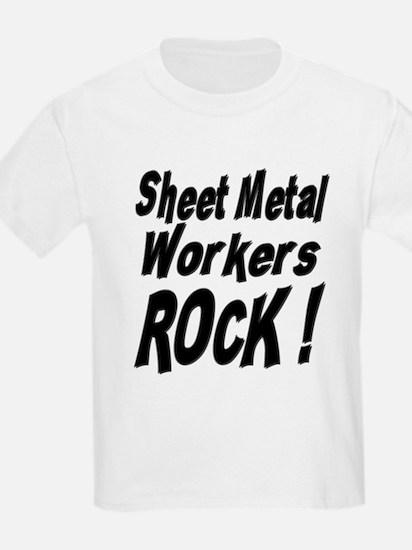 Sheet Metal Rocks ! Kids T-Shirt