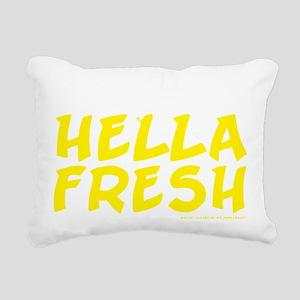 Always Fresh Yellow Rectangular Canvas Pillow