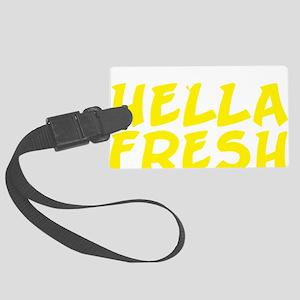 Always Fresh Yellow Large Luggage Tag