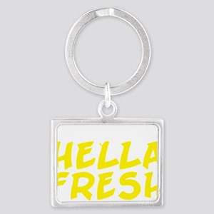 Always Fresh Yellow Landscape Keychain