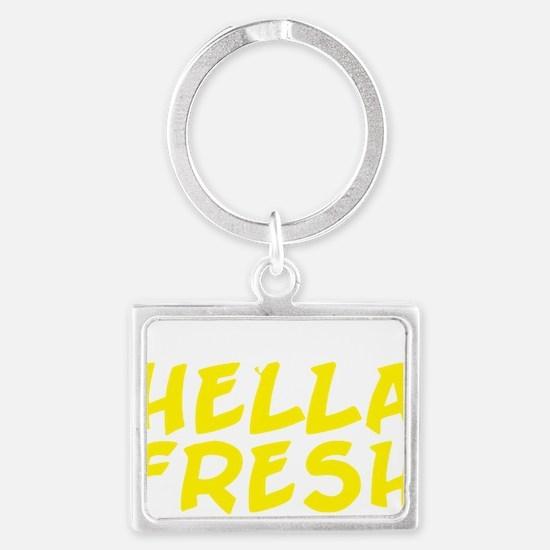 Always Fresh Yellow Landscape Keychain