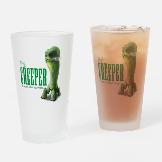 The Creepy Drinking Glass