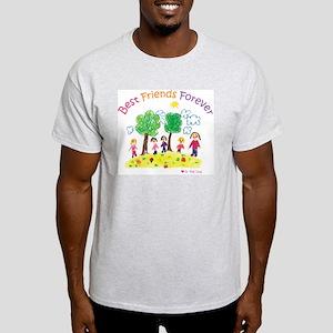 new_ml_bestfriends3-01 Light T-Shirt