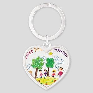 new_ml_bestfriends3-01 Heart Keychain