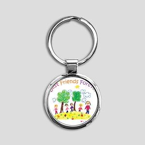 new_ml_bestfriends3-01 Round Keychain