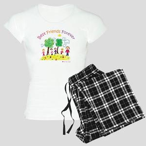 new_ml_bestfriends3-01 Women's Light Pajamas