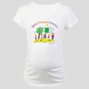 new_ml_bestfriends3-01 Maternity T-Shirt