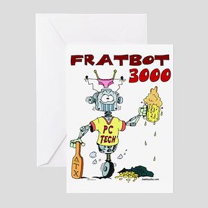 Fratbot 3000 Greeting Cards (Pk of 10)