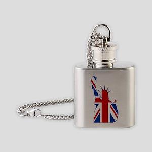 Lasy LiBRITy Flask Necklace
