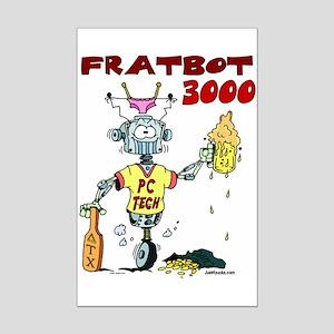 Fratbot 3000 Mini Poster Print