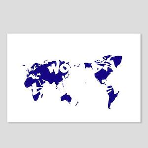 worldtraveler Postcards (Package of 8)