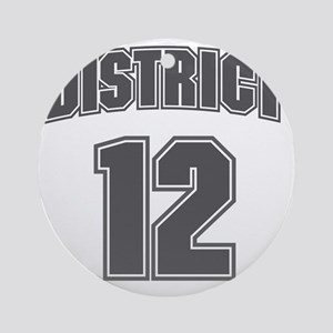 District12_6 Round Ornament