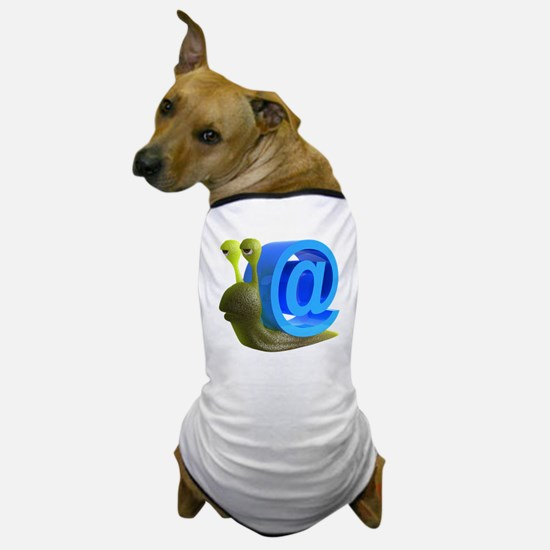 3d-snail-email Dog T-Shirt