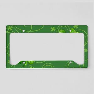 IrishShKeepskPgMiniW License Plate Holder