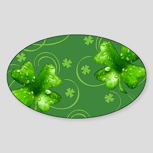 IrishShKeepskPgMiniW Sticker (Oval)